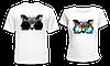 """Парные футболки """"Кот SWAG"""""""