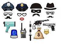 Набор фотосессии Полиция 050817-011
