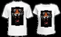 """Парные футболки """"Тигр"""", фото 1"""