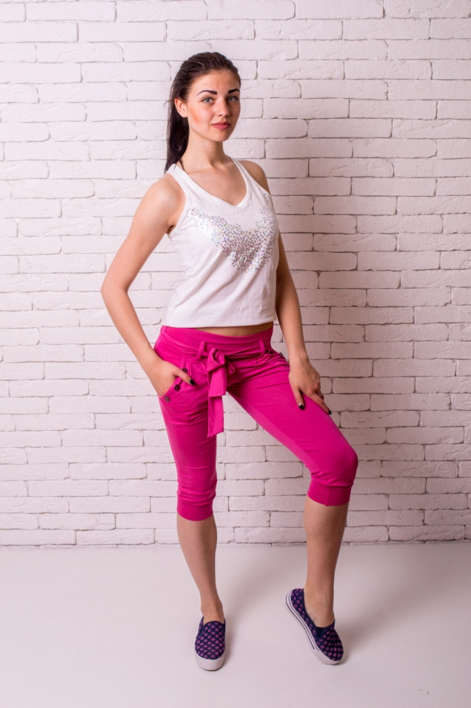 Бриджи Losinelli женские розовый В00138