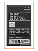 Аккумулятор Lenovo Lenovo A600/A630 (BL-206) 2500mAh Original