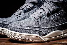 Женские кроссовки Nike Jordan Air 3 Retro Wool Grey, фото 2