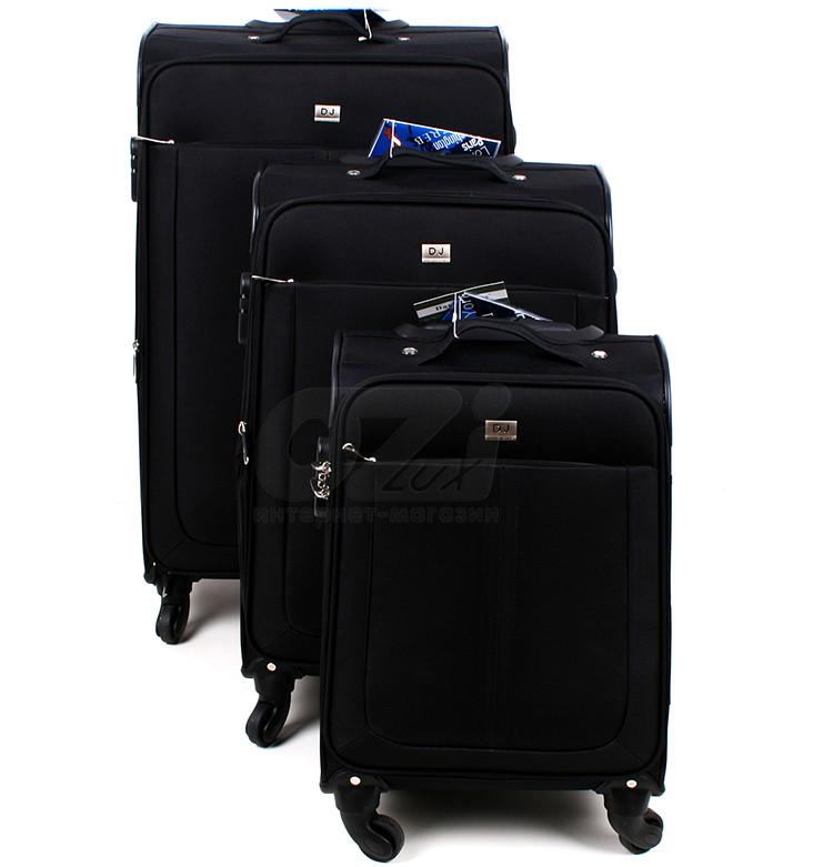 83e45b5d80ce Набор чемоданов David Jones Limited 2017 черные купить