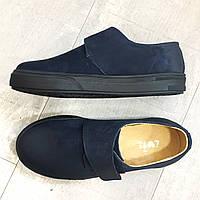Детские слипоны Evie Shoes Garry Navy 190192