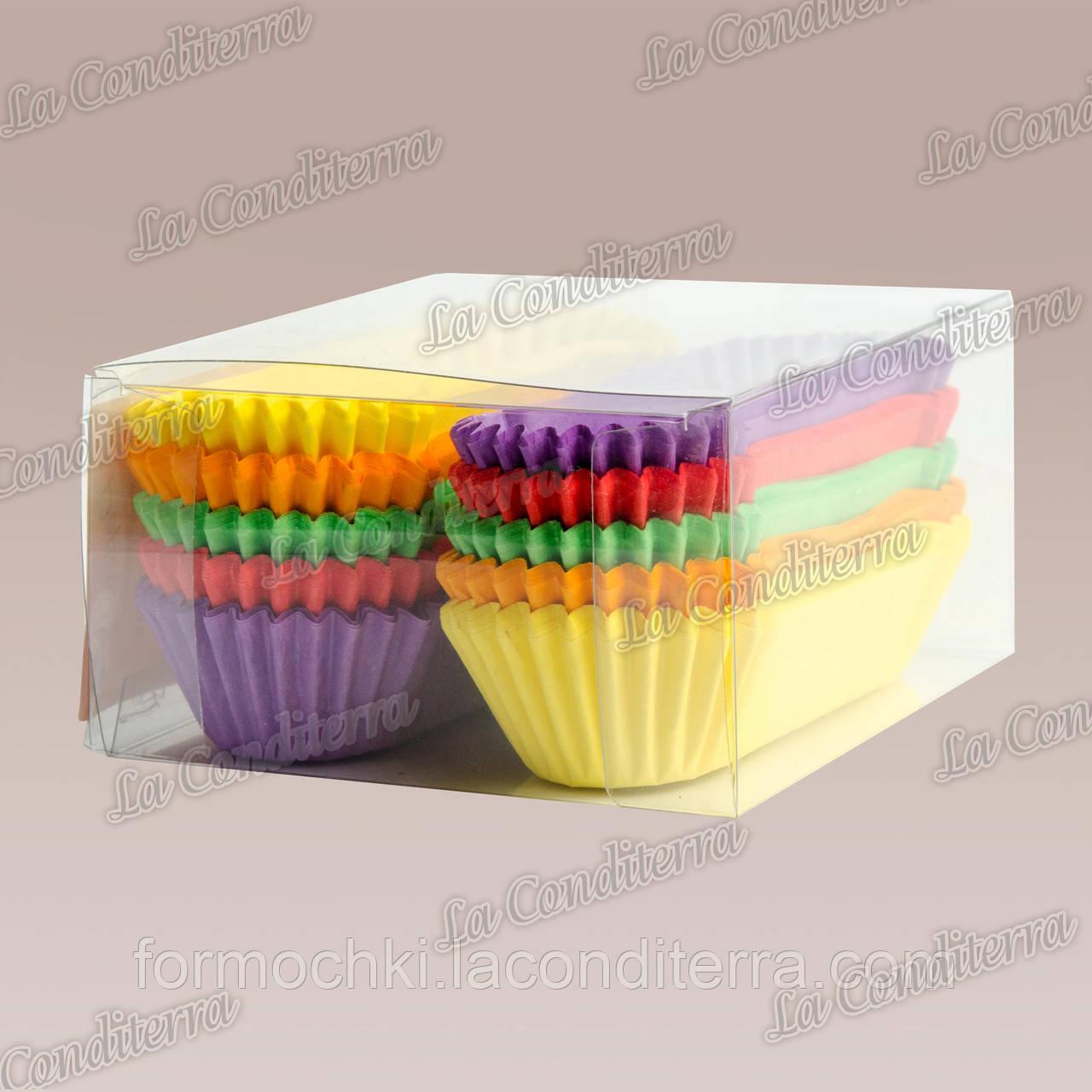 Формы для кексов OV10-ПУ (100x30 мм), микс-1, 150 шт.