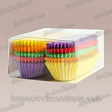 Форми для кексів OV10-ПУ (100x30 мм), мікс-1, 150 шт.