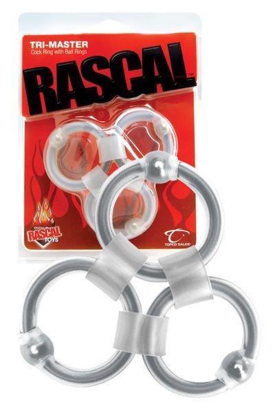 Кольца эрекционные Rascal Toys Tri-Master