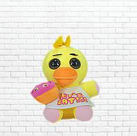 Детская мягкая игрушка чика фредди