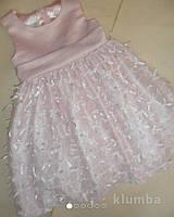 Нарядное пышное платье на 2-3 года
