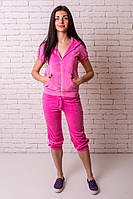 "Бриджи Losinelli ""Велюр"" розовый В00114, фото 1"