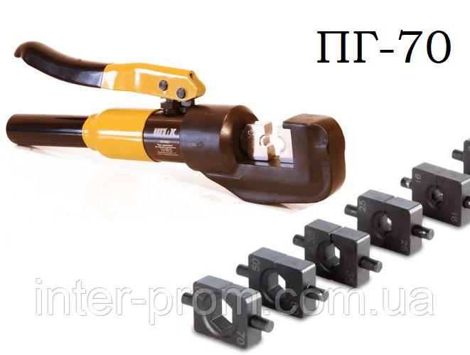 Пресс гидравлический ПГ-70 ШТОК для опрессовки