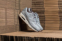 Женские кроссовки Nike Air Max 90 Premium Grey 443817-011, Найк Аир Макс 90, фото 2