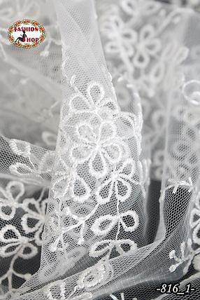 Свадебный платок Лира (айвори), фото 2