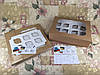Коробка Крафт для 12-ти кексов с окном 340*250*90