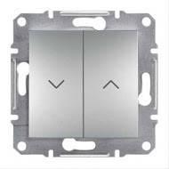 Выключатель для жалюзи Asfora алюминий, EPH1300161