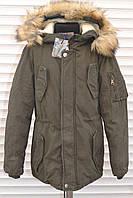 ПАРКА котоновая зимняя на меху для мальчиков.Размеры 8-16.Фирма TAURUS.Венгрия
