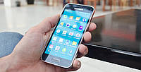 Стекло для Samsung G800F Galaxy S5 mini (Blue) Original