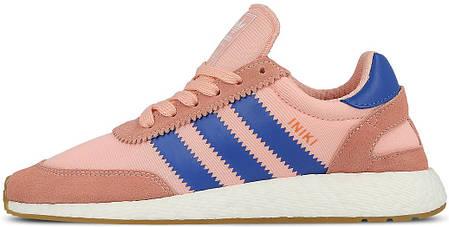 Женские кроссовки Adidas Iniki I-5923 Runner W Pink/Blue BA9999, Адидас Иники Ранер I-5923, фото 2