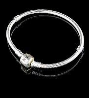 Браслет 'Pandora style' Серебро(925) 18 см