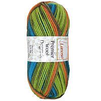Пряжа Lanoso Premier Wool Degrade 001