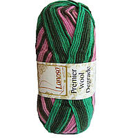 Пряжа Lanoso Premier Wool Degrade 3