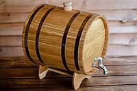 Жбан дубовый для напитков 15 литров