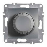 Светорегулятор с подсветкой 600 Вт Asfora сталь, EPH6500162