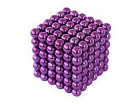 Неокуб NeoCube Фиолетовый 6×6 (216 шариков по 5 мм)