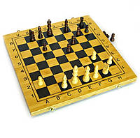 Шахматы-шашки-нарды средние 35x35 см