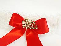Свадебная подвязка для невесты Elle, фото 1