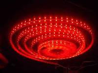 Світлодіодна стрічка smd3528 ІР65 червона 60LED