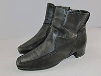 GABOR _Словакия _стильные кожаные ботинки _ 5р_25см Н50