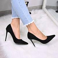 Туфли женские Jemm черные 3537, лодочки