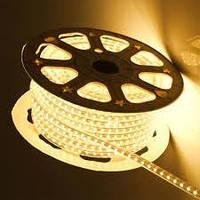 Світлодіодна стрічка 3528smd 220V IP68 3200К 60 LED