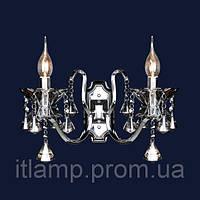 Светильник настенный , бра с хрусталем art702LSTW1309_2BK