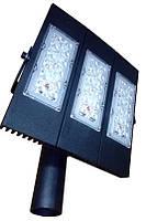 Ліхтар вуличний світлодіодний Street 120 Вт чорний
