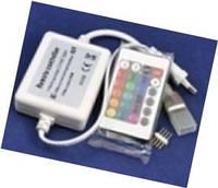 RGB контролер для стрічки 220В з IR пультом д/у