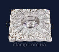 Врезной керамический светильник Art732M7050B(1)CRAZEGOLD