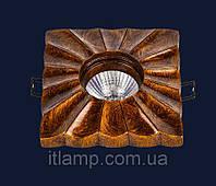 Врезной керамический светильник Art732M7050B(2) ANTIQUEGD