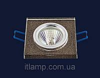 Врезной светильник со стеклом 70586