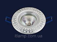 Врезной светильник со стеклом 70594CR