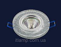 Врезной светильник со стеклом 70589