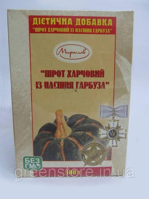 Фитопрепарат, Шрот из семян тыквы