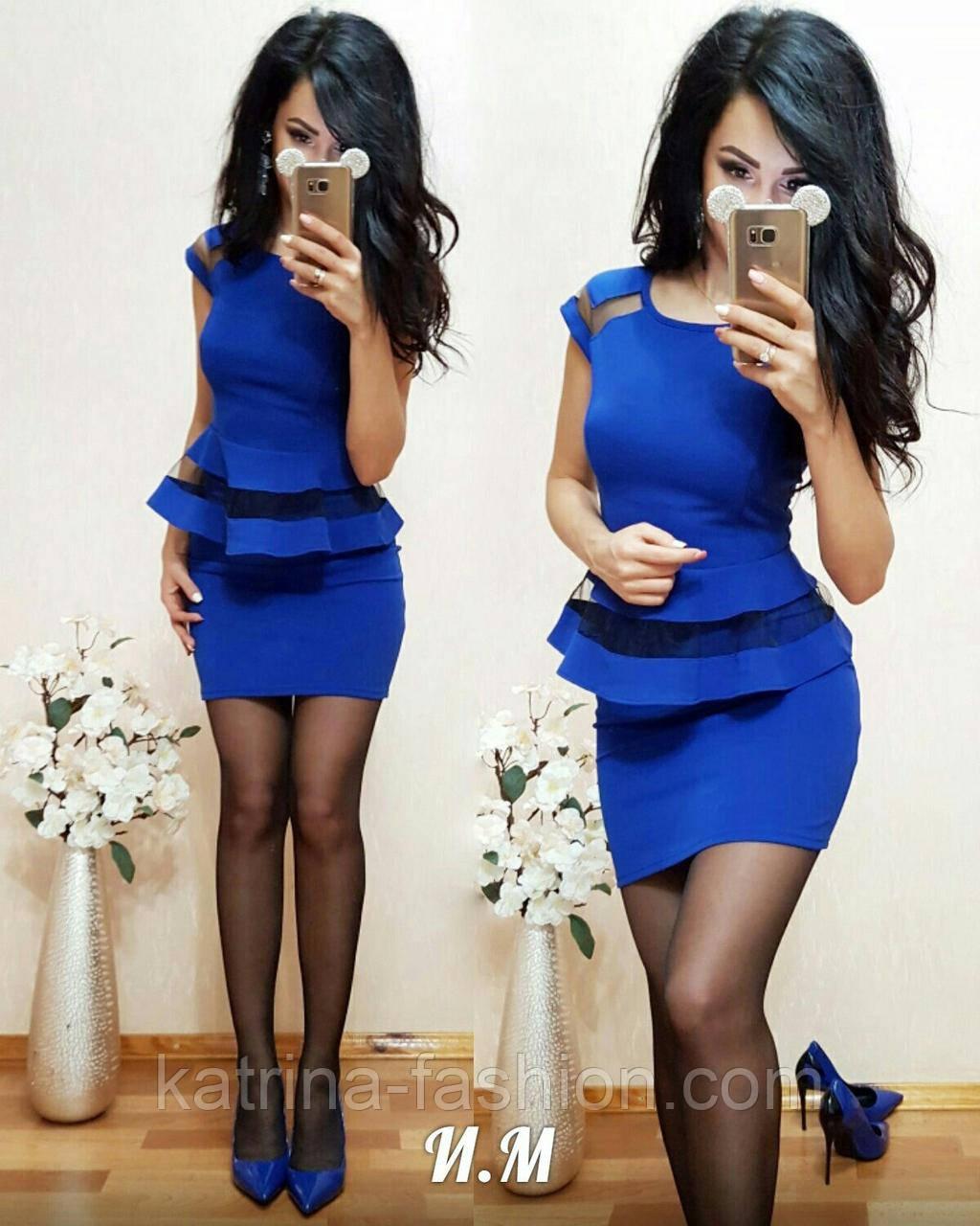 Женский костюм: баска и юбка (4 цвета)