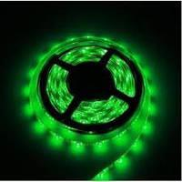 Світлодіодна стрічка 24В 5050 зелена 60LED/м IP65