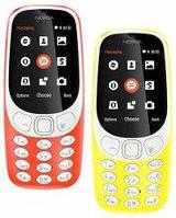 Оригинальный мобильный телефон Nokia 3310  2 сим,2,4 дюйма,2 Мп,1200 мА/ч.