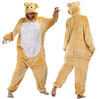 Кигуруми мишка  пижама теплая махровая комбинезон