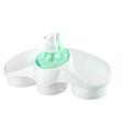 Диспенсер для мыла с подставкой titiz tp-653-gr зеленый