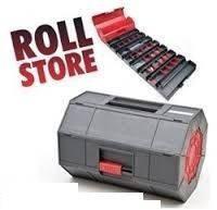 Переносной ящик для хранения мелких деталей и инструментов Roll-n-Store (Ролл енд Стор)
