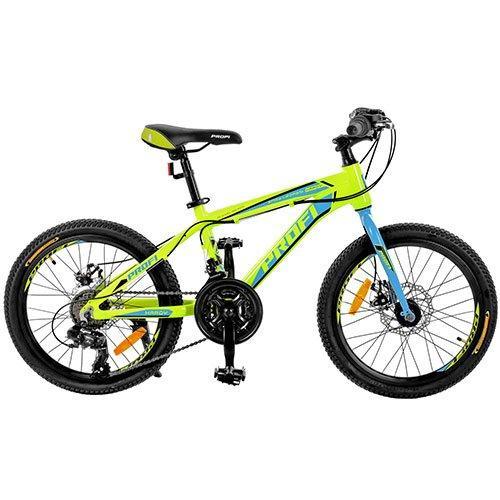 Спортивный велосипед 20 дюймов PROFI G20HARDY A20.1 оборудование Shimano
